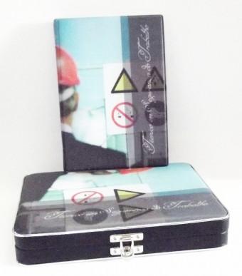 CAIXA/ALBUM 80FTS 15X21 TEC. SEG. TRABALHO 212