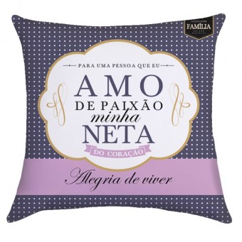 NETA PAIXAO ALMOFADA QUADRADA
