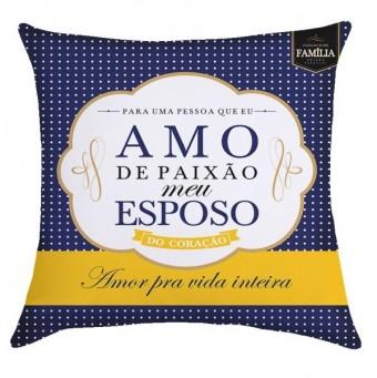 ESPOSO PAIXAO ALMOFADA QUADRADA