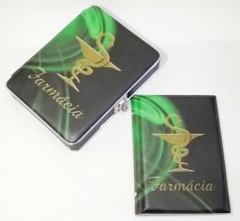 CAIXA/ALBUM 80FTS 15X21 FARMACIA 0112