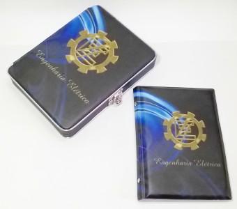 CAIXA/ALBUM 80FTS 15X21 ENGENHARIA ELETRICA 0112
