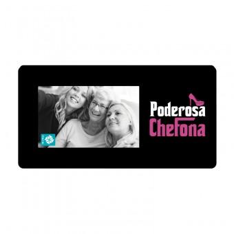 ALMOFADA 40X20 PODEROSA CHEFONA COM FOTO