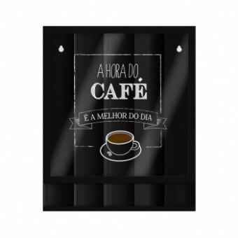 PT01.1904.LIS SUPORTE DE ACO DE PAREDE P/CAPSULAS HORA DO CAFE