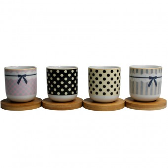 XICA058 JG XICARA CAFE 8PC PORCELANA