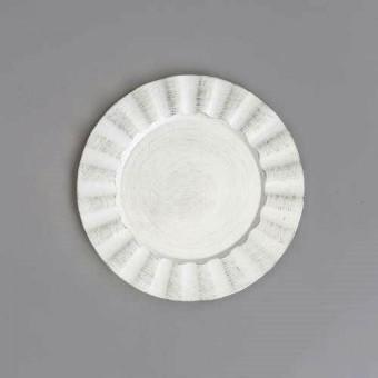 30296 SOUSPLAT BLACK AND WHITE DE PLASTICO COOK 33CM DIAM