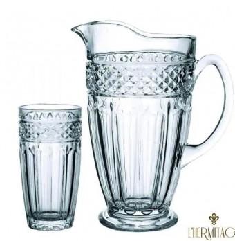 23145 Jogo para refresco Classica 7 pecas em cristal ecologico (1,4L + 6x310ml) transparente
